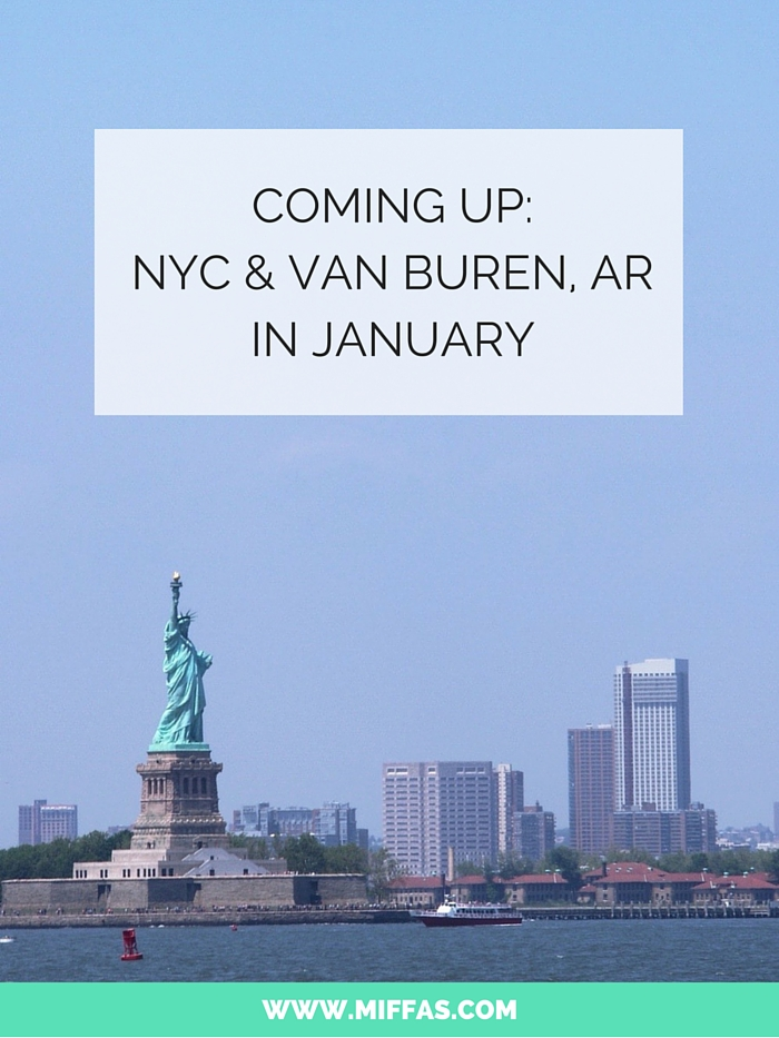 Coming up: NYC & VB, AR