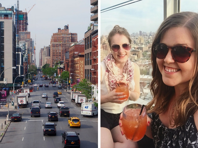 Street View and Roof Top Drinks