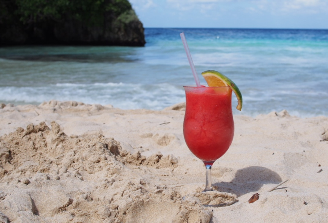 Frenchmans Cove Port Antonio Jamaica Strawberry Daiquiri