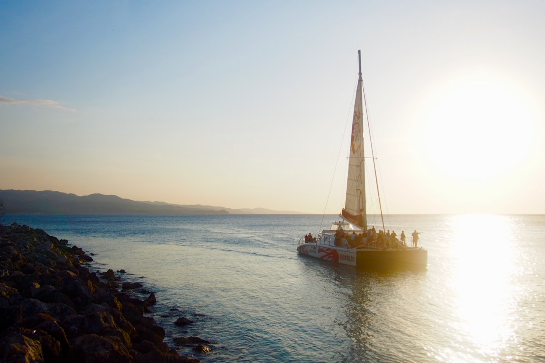 Old Hospital Park Montego Bay Jamaica Sailing sunset