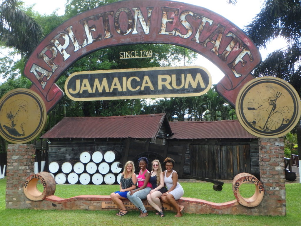 Appleton Estate Rum Tour gate