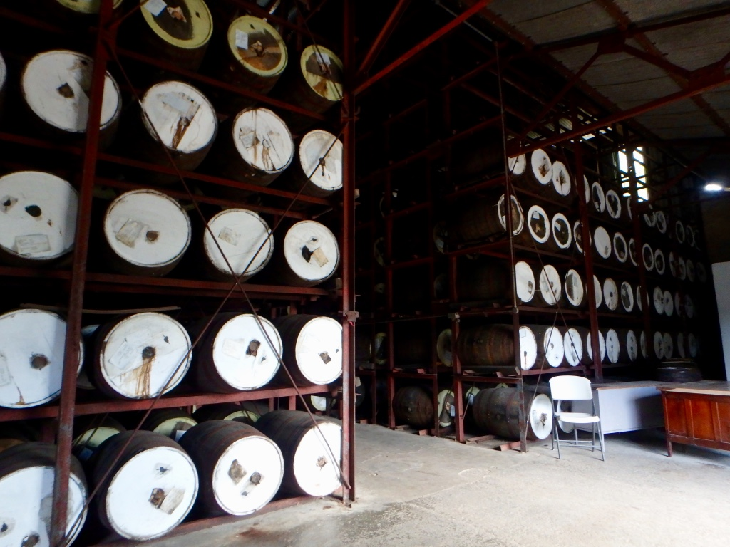 Appleton Estate Rum Tour kegs