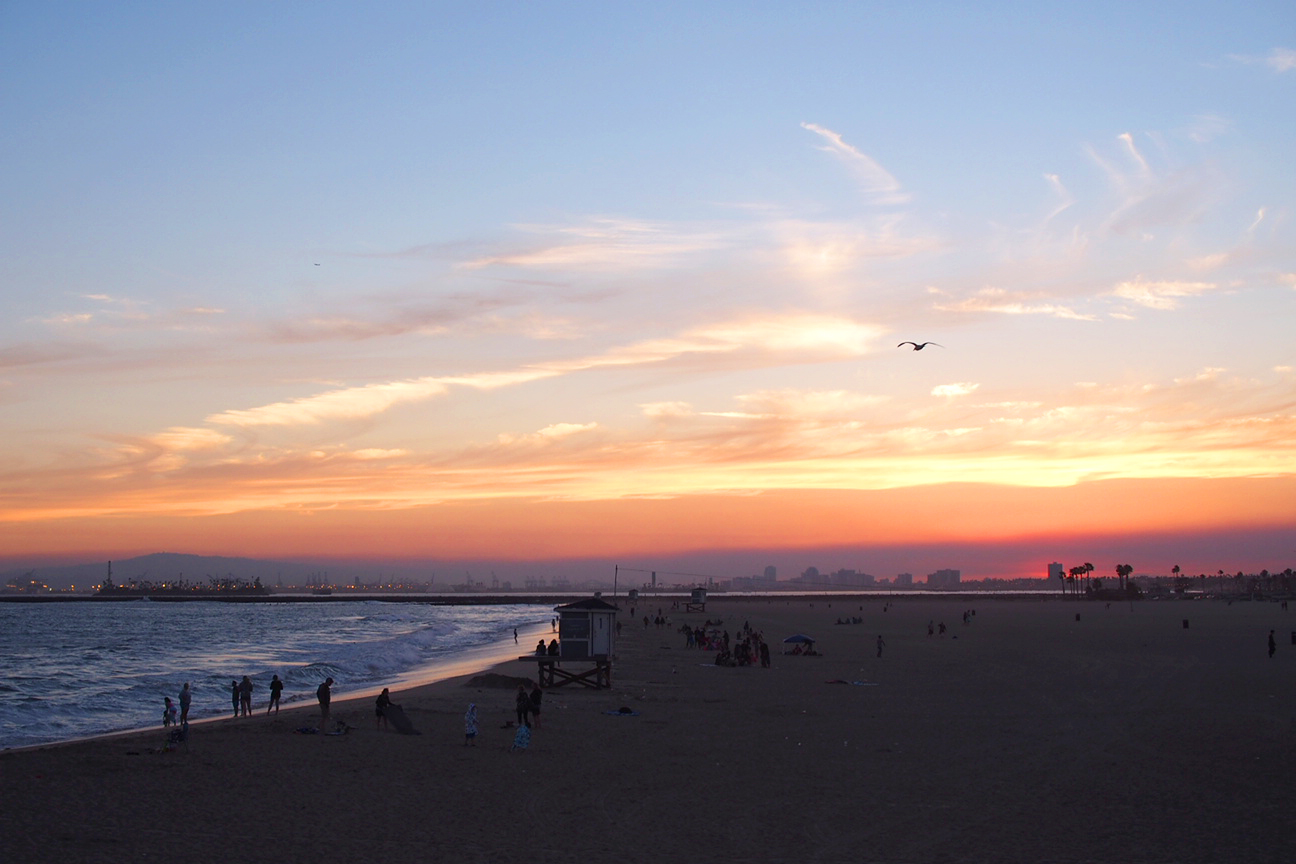 seal-beach-sunset